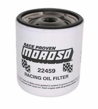 Moroso 22459 Racing Oil Filter - Chevy Short Style - 20 Micron - Heavy Duty
