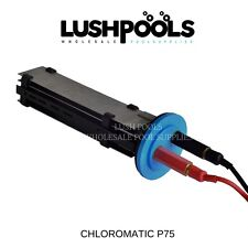 CHLOROMATIC P-Series P75 Replacement Chlorinator Cell SOLID PLATES 5yr Warranty
