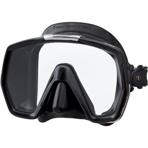 Tusa M1001 Freedom HD Scuba Diving Mask Black ....NIB