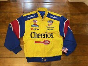 John Andretti #43 Cheerios Racing Race Jacket Men Size Medium NASCAR 2000 New JH