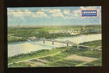 Post card LOUISIANA - BRIDGE OVER THE MISSISSIPPI RIVER AT BATON ROUGE