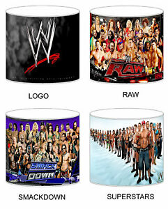 WWE Wrestling Lampshade Ideal To Match Bedding Duvets Curtains Cushion Covers