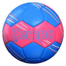 KEMPA Leo Handball  200189202  sehr guter Trainingsball FluoRot/Blau  Gr. 1  NEU