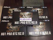BRAND NEW! ASRock H81 PRO BTC R2.0 LGA 1150 6 PCIE MINING MOTHERBOARD! BITCOIN!