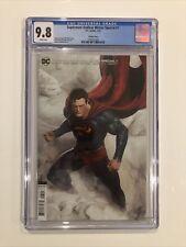 Superman: Endless Winter Special #1 CGC 9.8 Rafael Grassetti variant cover