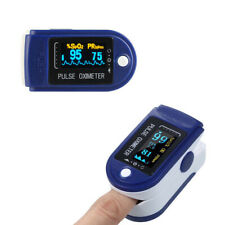 Heart Rate Spo2 PR Portable Finger Pulse Oximeter With Sleep Monitor IR Blue