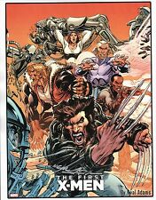 The FIRST X-MEN PRINT HAND SIGNED by Artist Neal Adams Marvel Wolverine