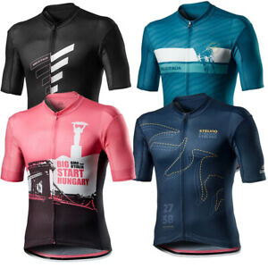 Mens Cycling Short Sleeve Jersey GIRO D'ITALIA Cycling Jersey  Bicycle Jersey