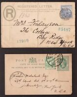 Cape of Good Hope CGH, two old covers         -AY41