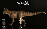 Jurassic Carnotaurus Sastrei Ranger PAINTED 1/35 Dinosaur Museum Model Green Ver