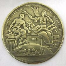 1889 Bronze Medal Paris French Exposition Universelle World Expo
