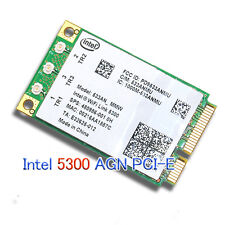 Intel WiFi Link 5300 AGN Mini PCI-E Wireless Card 802.11a/b/g/Draft-n 533AN_MMW
