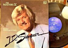 The Masters V Present J.D. Sumner LP - Skylite SLP 6266, 1982, EX / EX