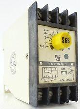 PILZ STR Zeitrelais Time Relay 0,04-10s 220V~ 3,5VA STR/10/220VWs/1uFBM 402359