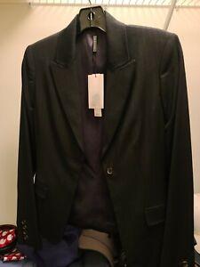 NEW w/tags Eli Tahari womens suit pin stripe msrp $550.00