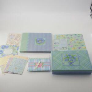 Tim Coffey 8.5x8.5 Scrapbook Album & Card Kit Papers Stickers Die Cuts K & Co