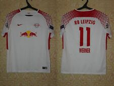 Boys Youth Red Bull RB Leipzig 2017 2018 Werner Nike Home Shirt Jersey Trikot