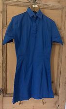 YMC You Must Create summer shirt Style Dress size 8 Blue Rare Cool Cotton