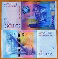 Cape Verde, 1000 (1,000) Escudos, 2014 (2015), P-New, UNC