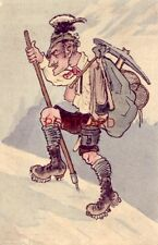 ALPINE MOUNTAIN CLIMBER illustration Series 1726 Made in Germany