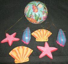 Seashell Wind Chimes--ERCO--Ceramic--FREE SHIPPING
