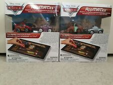 CARS - Disney Pixar - Appmates - 2 packs with 2 cars each pack - play with iPad