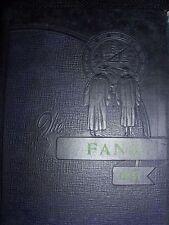 Lufkin High School 1941 The Fang Yearbook annual Texas TX senior