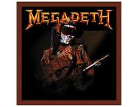 OFFICIAL LICENSED - MEGADETH - SO WHAT SOLDIER VINYL WOVEN PATCH METAL