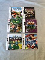 Nintendo DS Video Game Manuals Lot Of 6 (LOT 4)