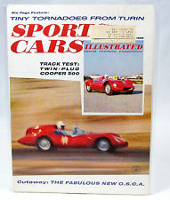 Vintage SPORTS CARS ILLUSTRATED Magazine - Feb 1959 - Cooper 500 - O.S.C.A