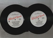 """MACHINATIONS, MY HEART'S ON FIRE / SPARK, 1989 OZ 7""""x45rpm SINGLE RECORD"""