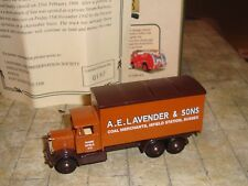 LLEDO - LTD EDN - 1937 SCAMMELL 6 WHEEL TRUCK - LAVENDER & SONS ISFIELD STATION