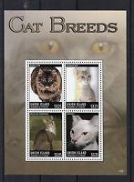 Union Island Gren St Vincent 2013 MNH Cat Breeds I 4v M/S Pets Donskoy Stamps
