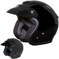 Fulmer 359 Oasis Mens Street Riding DOT Cruising 3/4 Open Face Motorcycle Helmet