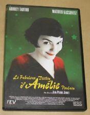 """DVD Film """"LE FABULEUX DESTIN D'AMELIE POULAIN"""" (Tautou, Kassovitz, Debbouze)"""