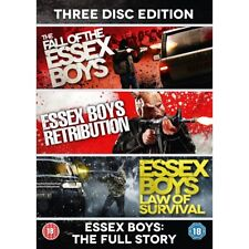 Essex Boys The Full Story - 20th Anniversary Edition 3 Discs DVD Region 2