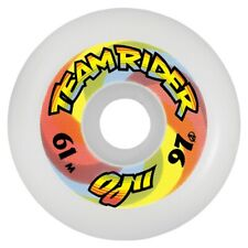 Santa Cruz Oj Ii Team Rider Speedwheels Reissue Skateboard Wheels 61mm 97a White