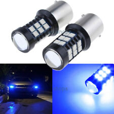 Bright Blue 1156 LED Canbus Bulbs For Volkswagen MK6 Jetta Daytime DRL Light -2x