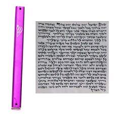 Amazing Kosher 12cm Metal Mezuzah Scroll Mezuza Jewish Mazuzah Torah Gift Shop