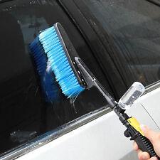 Hot Long Handle Car Washing Brush Soft Boat Auto Wheels Washing Cleaner Tool Kit