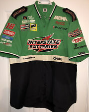 XL Bobby Labonte Interstate Batteries Nascar Pit Crew Shirt Joe Gibbs Racing EXQ
