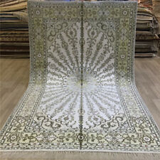 Yilong 5'x8' Classic Handmade Silk Area Rug Living room Hand Knotted Carpet 062C