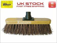 More details for broom head sweeper varnished 300mm (12in) bassine sweeping