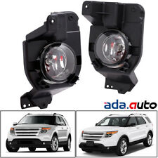 2011 2012 2013 2014 2015 Ford Explorer [Glass Lens] Fog Lights Bumper Lamps