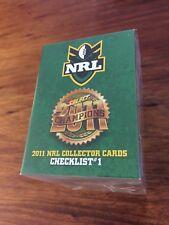 2011 Select NRL Champions Series - 196 Card Base Set