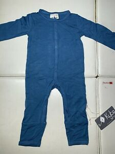 Kyte 3-6 Months Blue Sleep One Piece