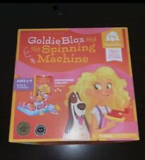 Goldie Blox And The Spinning Machine Read And Build Along