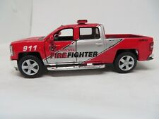 2014 CHEVROLET SILVERADO FIRE FIGHTER FROM KINSMART DIECAST 1/46 SCALE