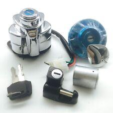 Honda Shadow ACE750 VLX600 Ignition Switch Fuel Gas Cap Seat Lock Key Set