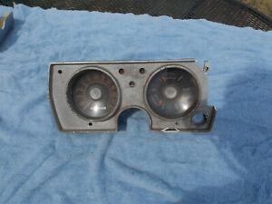 1964 1965 Plymouth Barracuda Valiant speedometer gauges parts